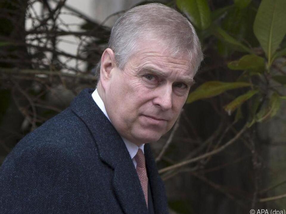 Niederlage für Prinz Andrew vor Gericht