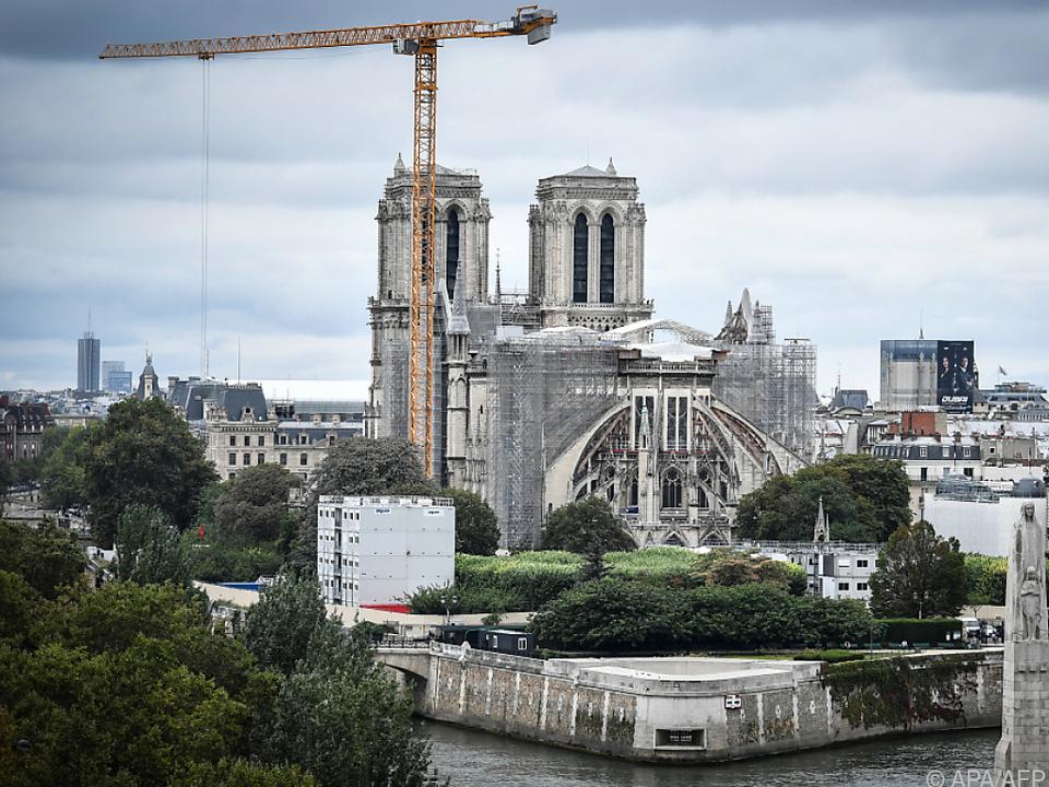 Noch harrt die Brandruine von Notre-Dame ihrem Wiederaufbau