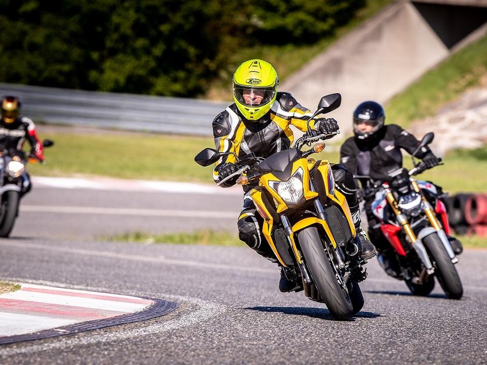 ÖAMTC Fahrtechnik_Motorrad Training
