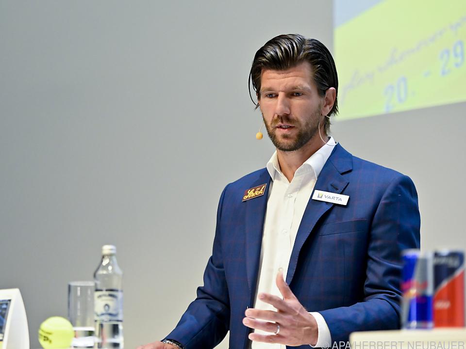 ÖTV-Sportdirektor Melzer bei der Präsentation des Wien-Startfeldes 2021
