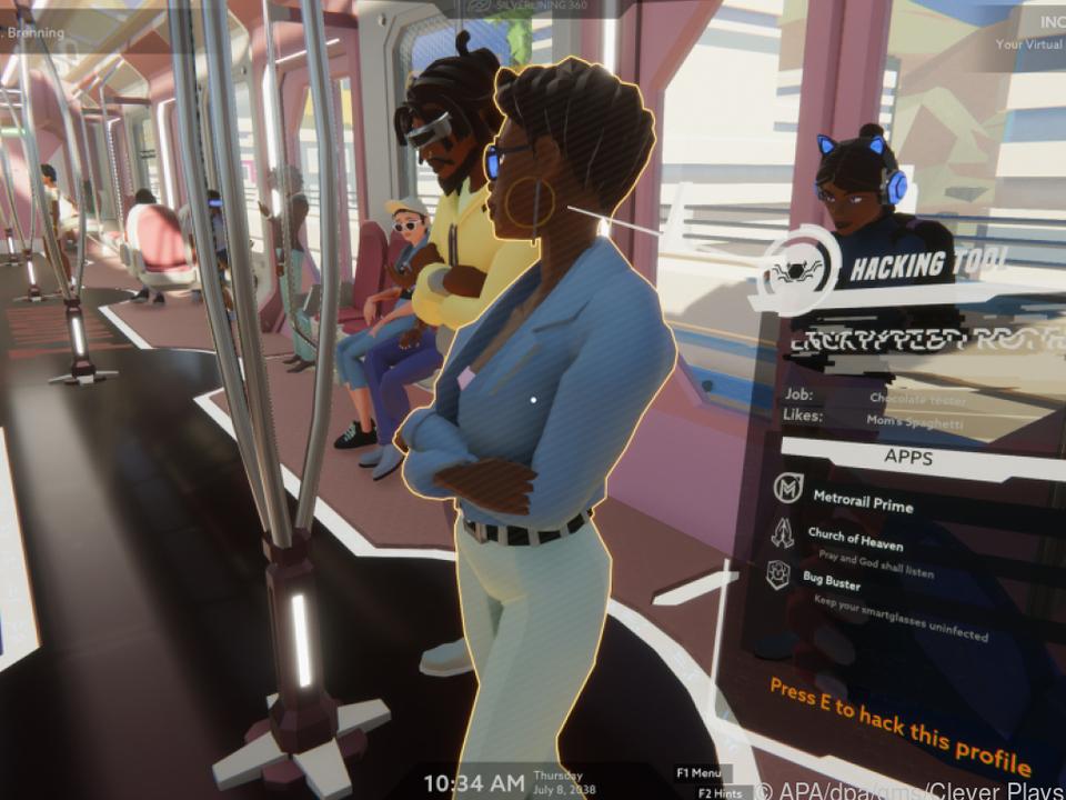 Auf geheimer Mission im Zug: Agentin Angel darf hier nicht auffallen