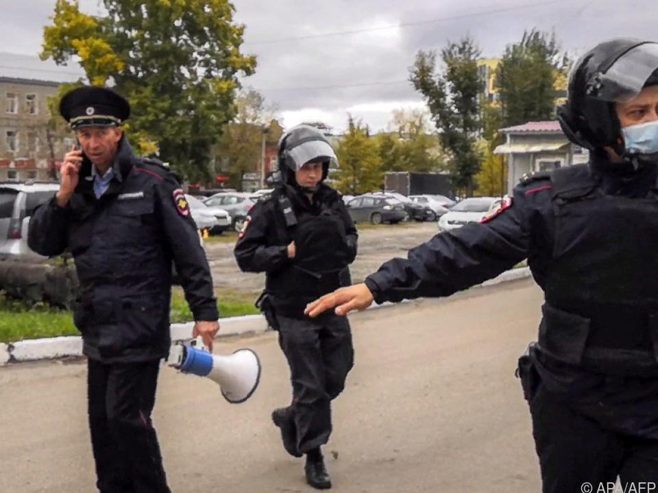 Polizei schaltete den Angreifer aus