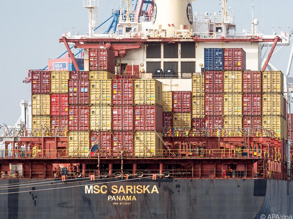 Preise für Container sind von 2.000 auf 10.000 Dollar gestiegen