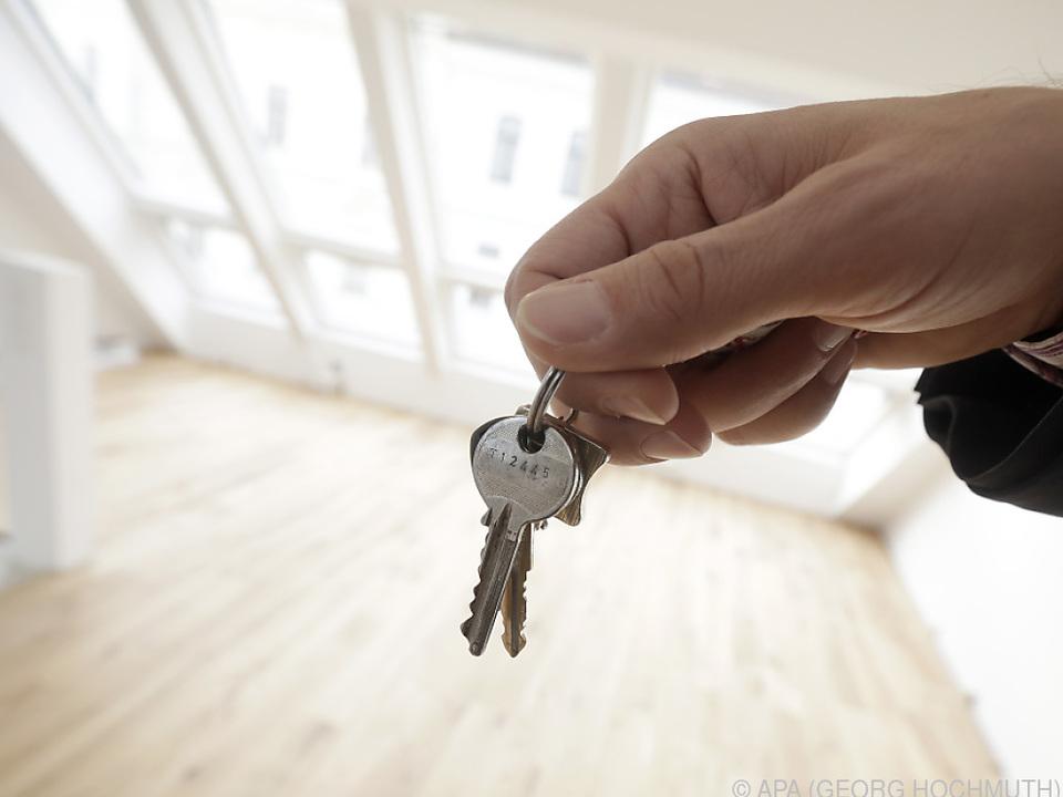 Preise für Wohnraum überdurchschnittlich gestiegen
