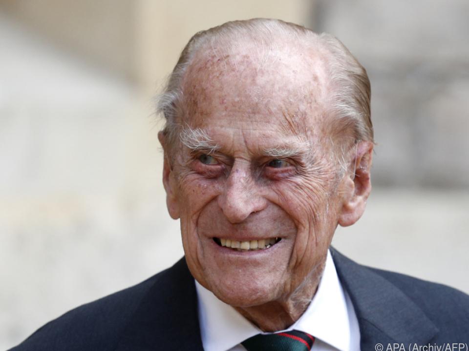 Prinz Philip war im April im Alter von 99 Jahren gestorben
