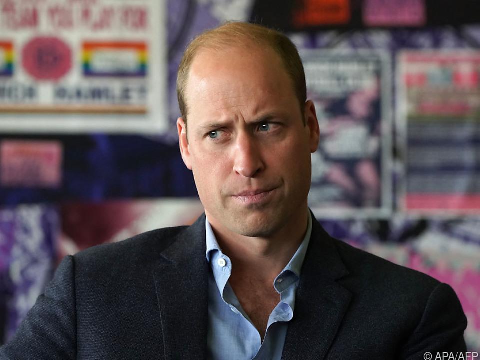 Prinz William möchte Taten sehen