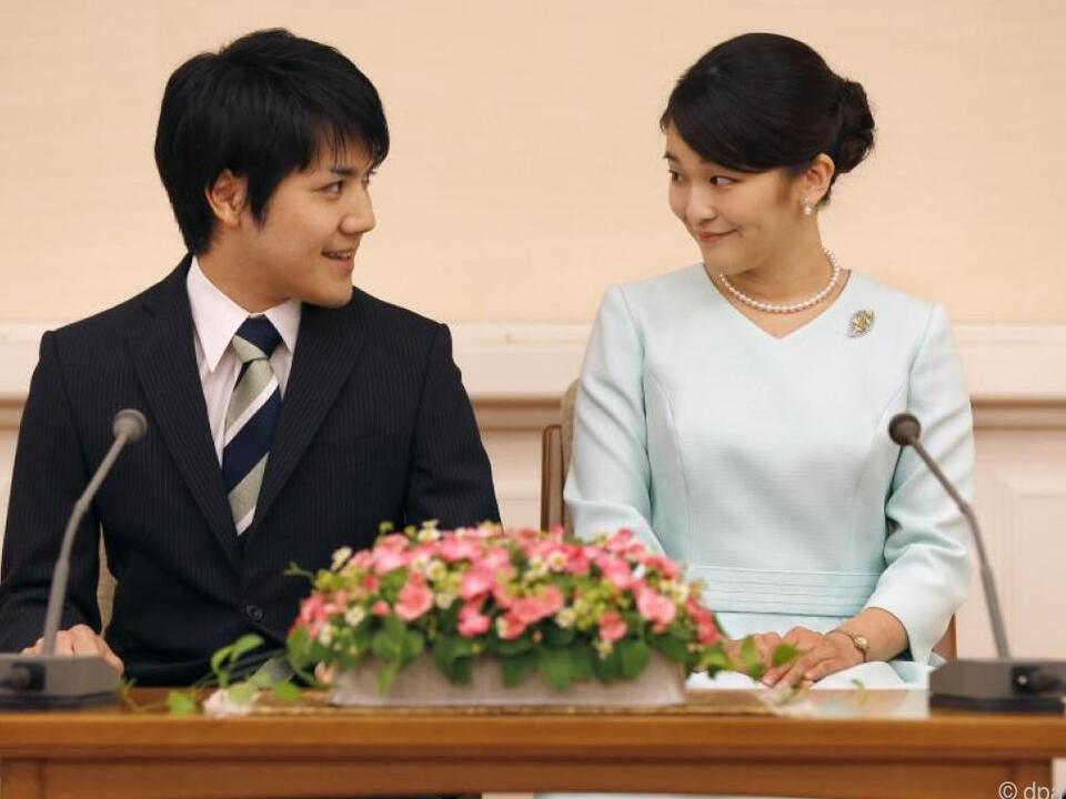 Prinzessin Mako und ihr Studienfreund Kei Komuro