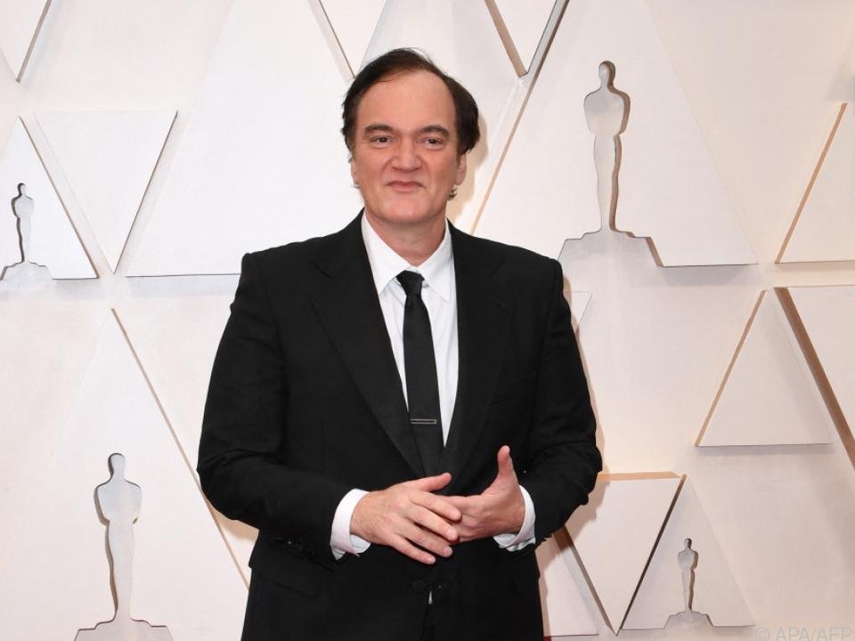 Quentin Tarantino in einer Hommage an Spaghetti-Western