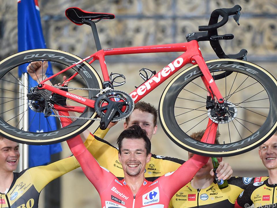 Roglic erneut Vuelta-Sieger