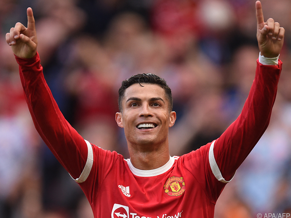 Ronaldo traf bei ManUnited-Comeback im Doppelpack