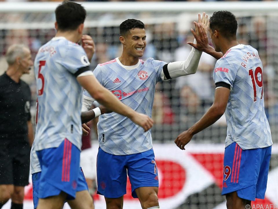 Ronaldo traf neuerlich für die \