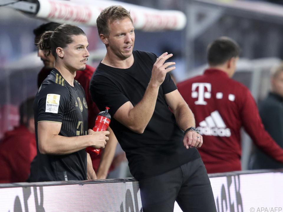 Sabitzer kam beim nächsten Bayern-Sieg erneut von der Bank