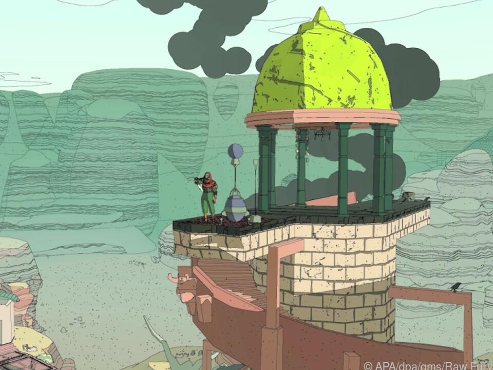 Das Spiel weckt Erinnerungen an klassische Comics