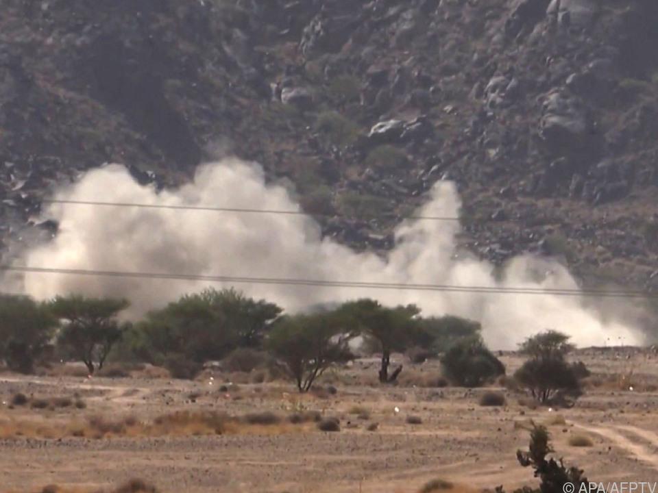 Schwere Kämpfe um die Stadt Marib im Jemen