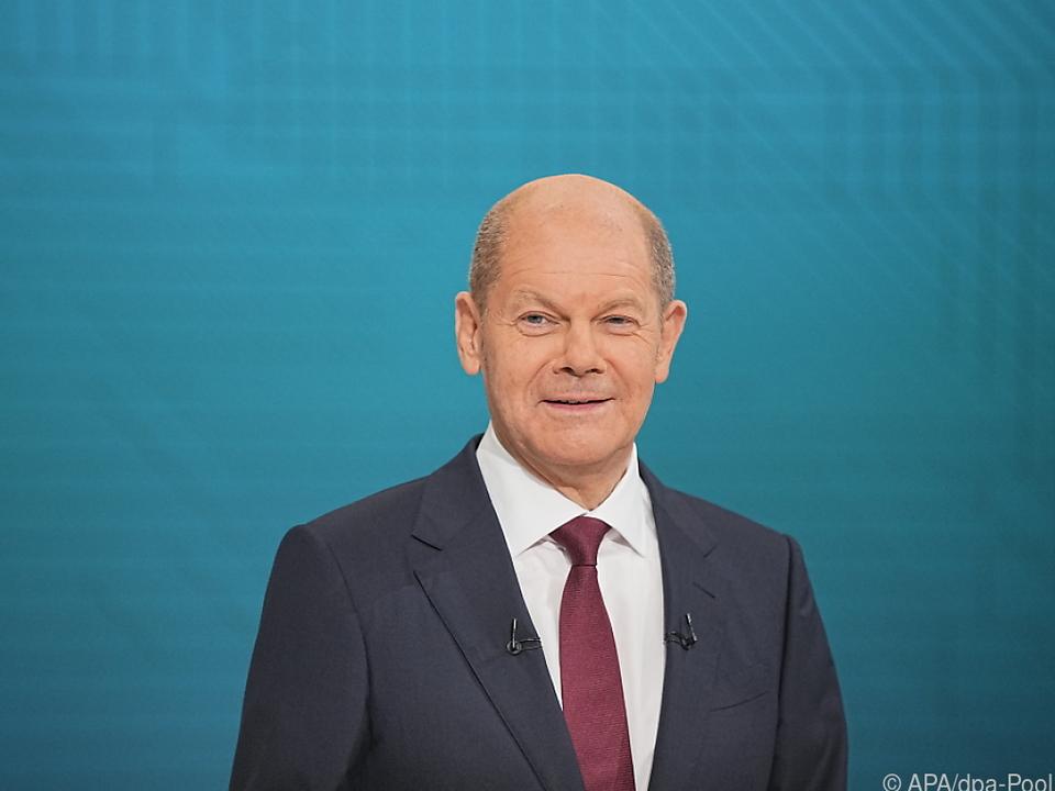 SPD-Kandidat Scholz geht als Favorit ins zweite Triell