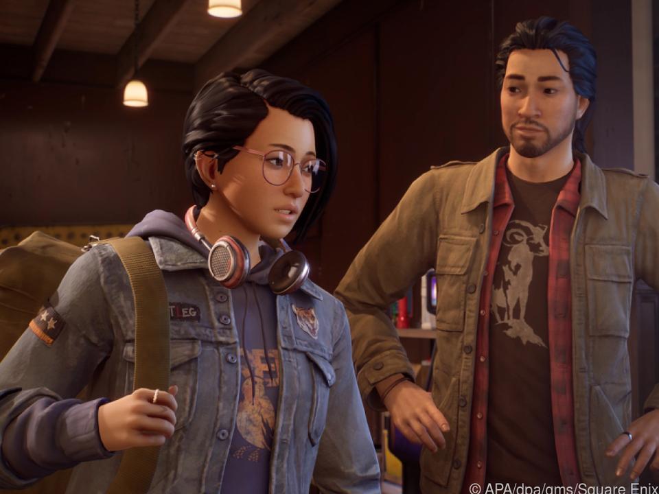 Alex (li.) trifft ihren Bruder Gabe, nur um ihn bald auf tragische Weise zu verlieren