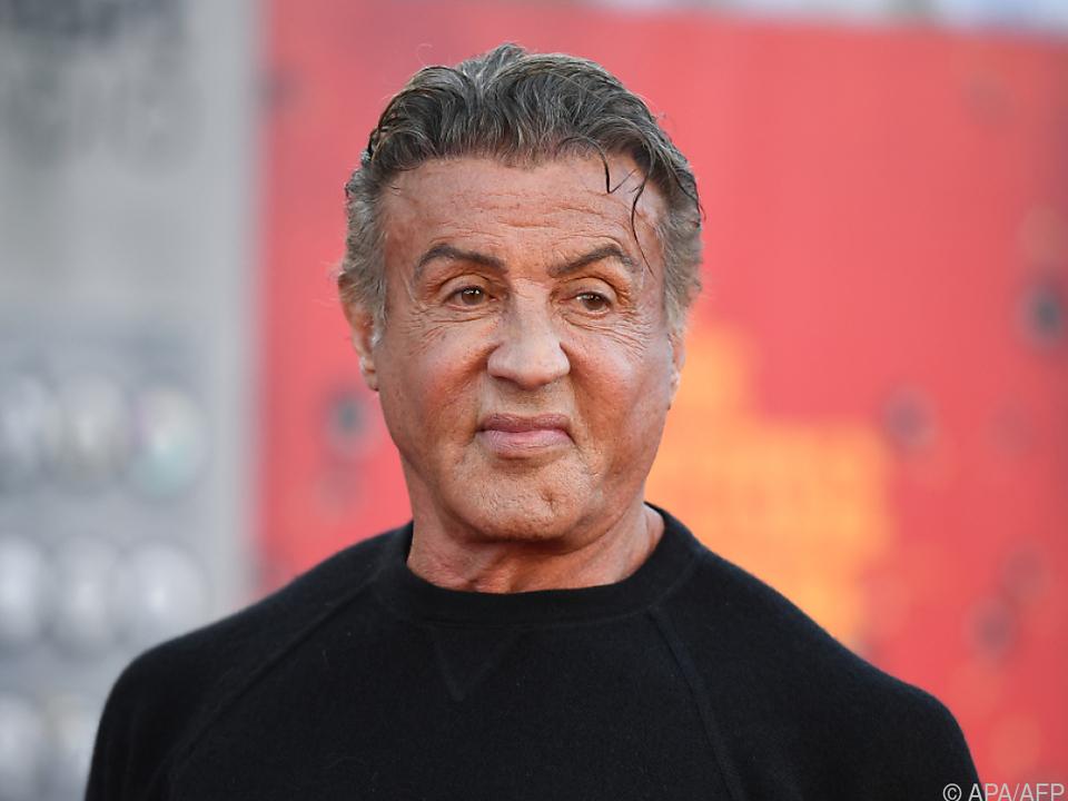 Stallone ist einer der berühmtesten Action-Stars