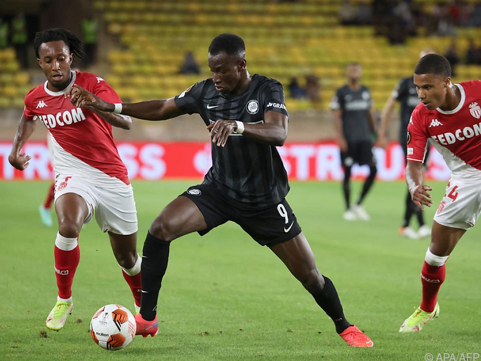 Sturm verpasste in Monaco die Überraschung