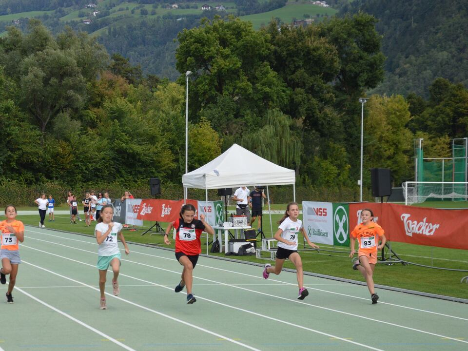 Südtiroler SprintChampion - Finalistinnen U12