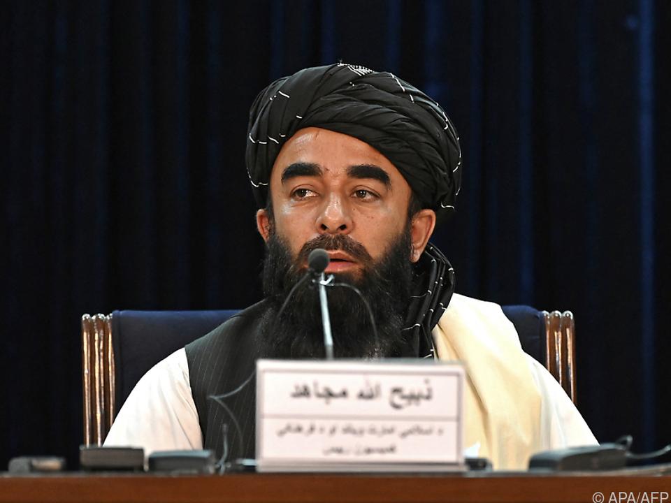 Taliban-Sprecher Zabihullah Mujahid