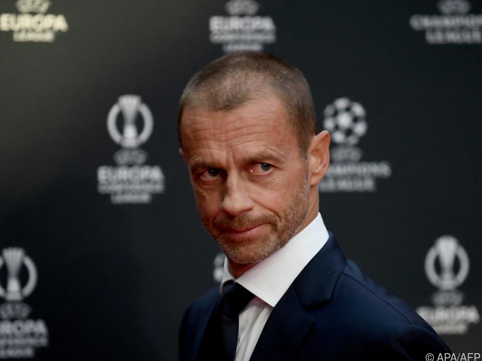 UEFA-Chef Aleksander Ceferin gefallen die FIFA-Pläne gar nicht/Archiv