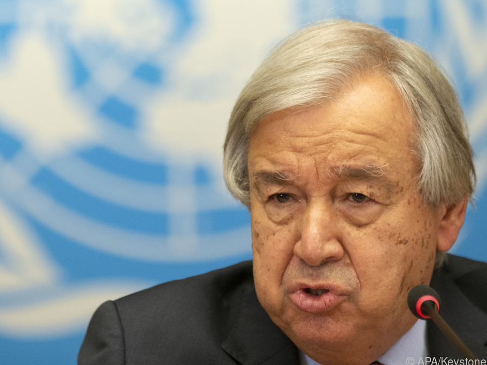 UN-Chef Guterres warnt: Die Welt ist \