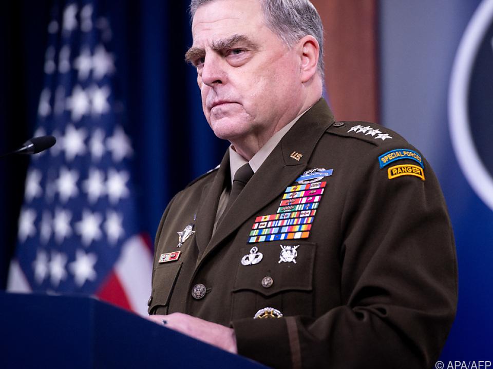 US-Generalsstabschef schränkte Trump ein