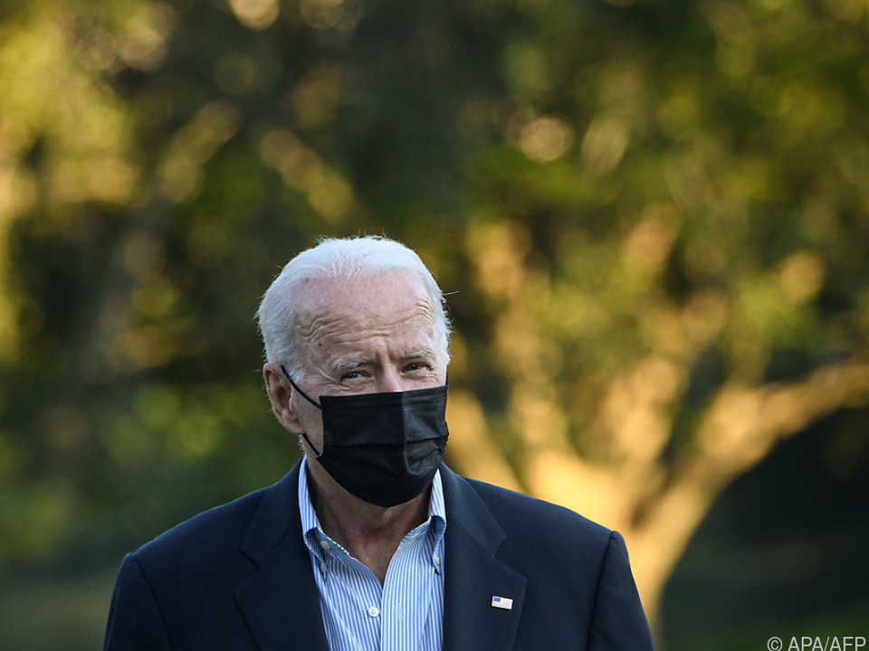 US-Präsident Biden drängt auf schärfere Maßnahmen
