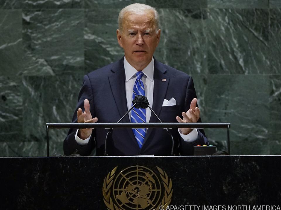 US-Präsident Biden hielt seine erste Rede vor der UNO