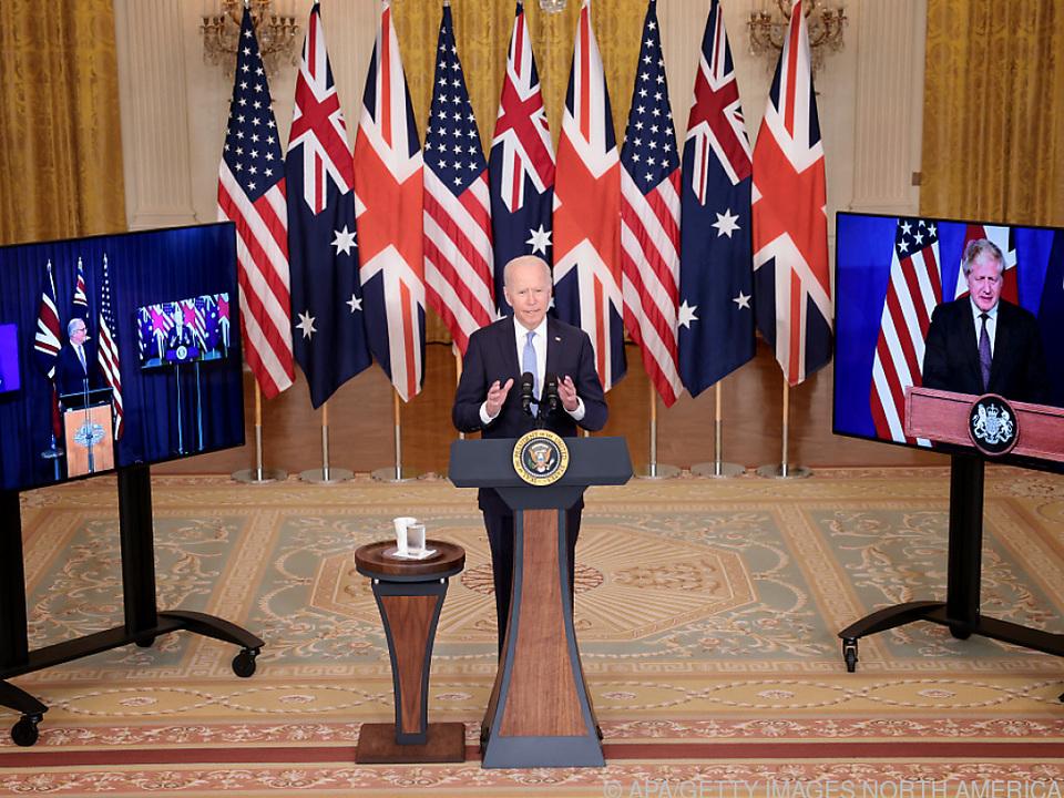 USA, Australien und Großbritannien schmiedeten Sicherheitspakt