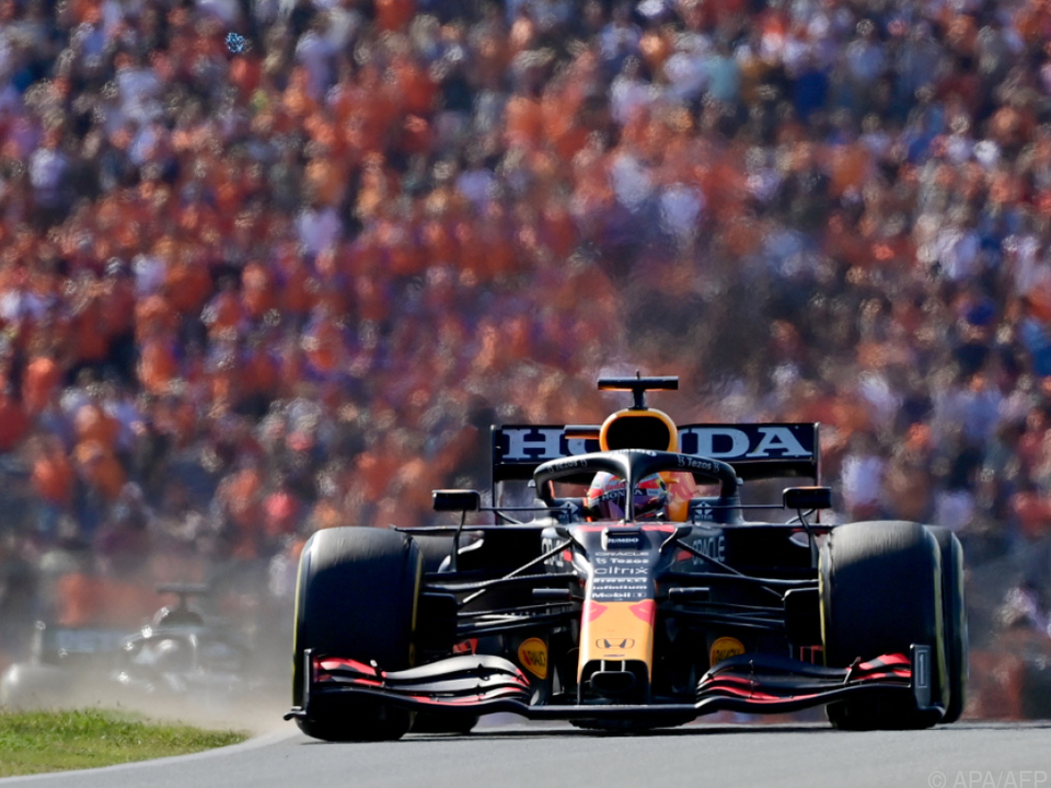 Verstappen-Triumph vor den Oranje-Fans