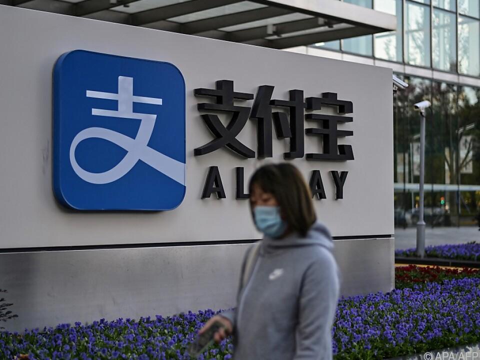 Viele Chinesen nutzen AliPay zum Bezahlen