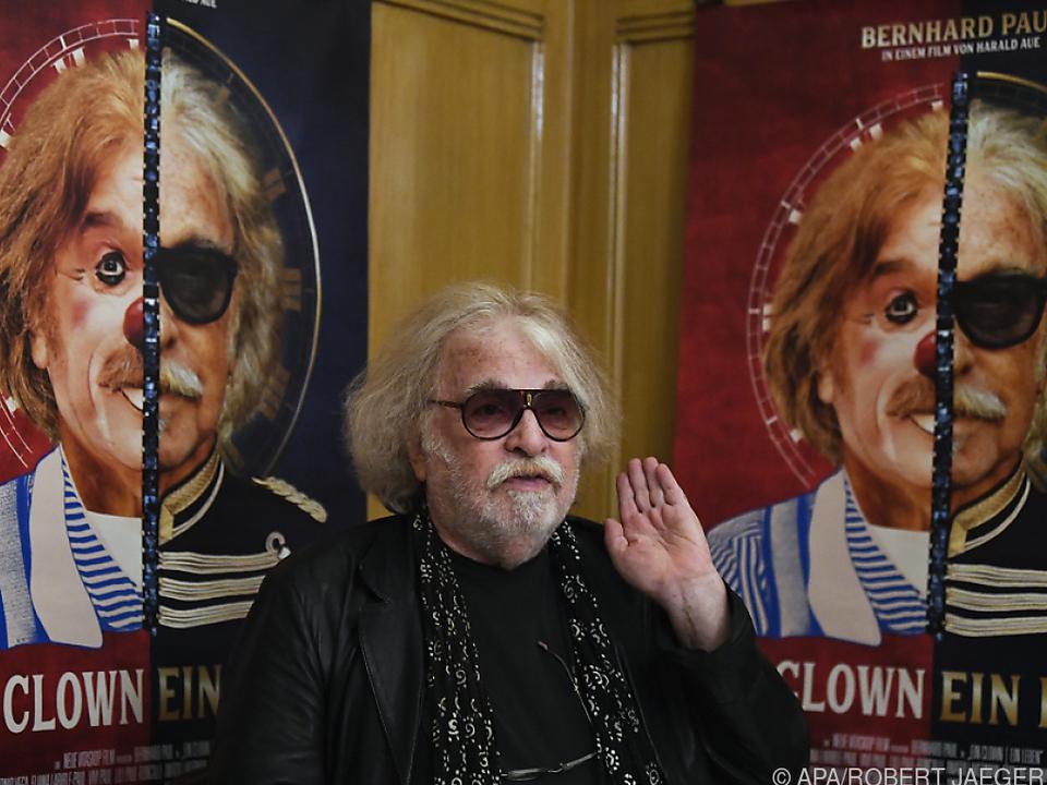 Zirkusdirektor Bernhard Paul und sein Clown-Alter ego
