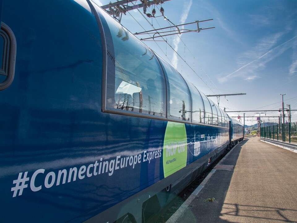 Zug Connecting Europe Express (c) Connecting Europe Express