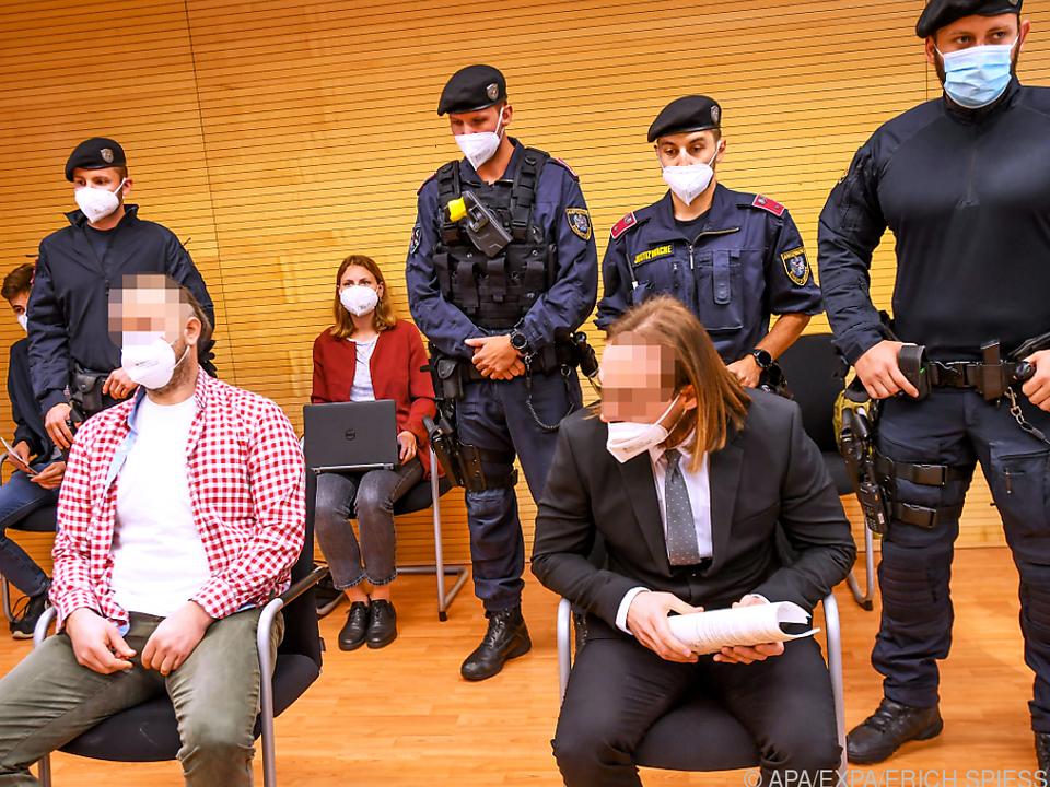 Zwei Juwelierräuber wurden in Innsbruck schuldig gesprochen