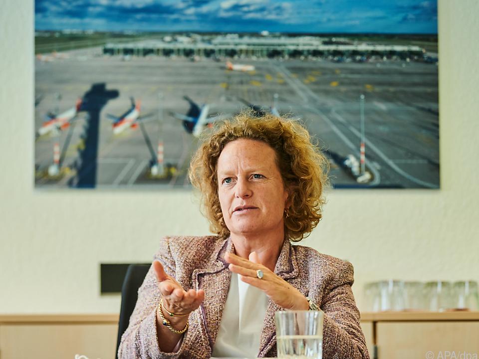 Aletta von Massenbach ist seit 1. Oktober BER-Geschäftsführerin