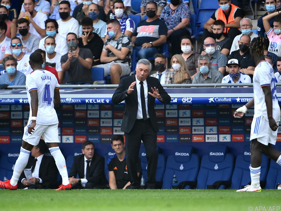 Ancelotti haderte in Barcelona mit Vorstellung seiner Elf