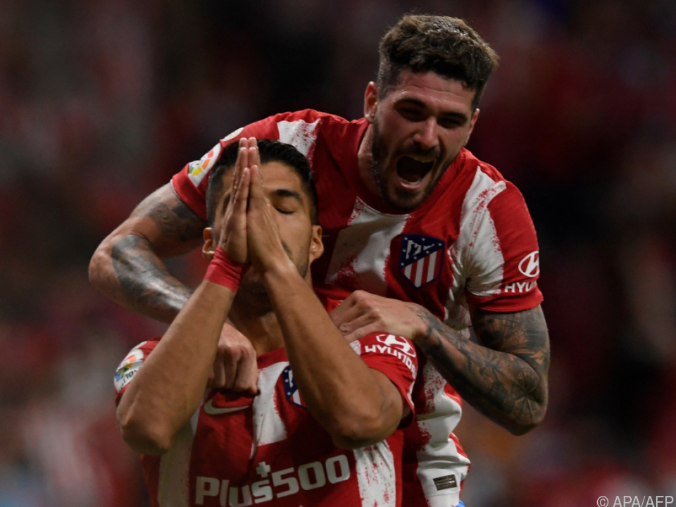 Atletico-Stürmer Suarez traf gegen Ex-Club Barcelona