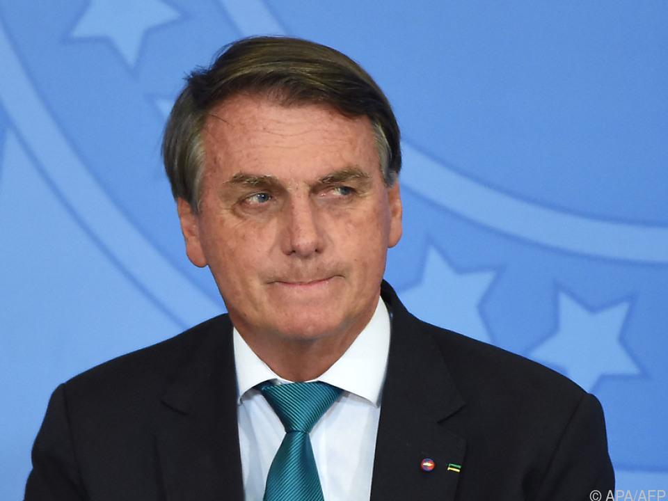 Brasilianischer Präsident soll sich für Klimaverbrechen verantworten