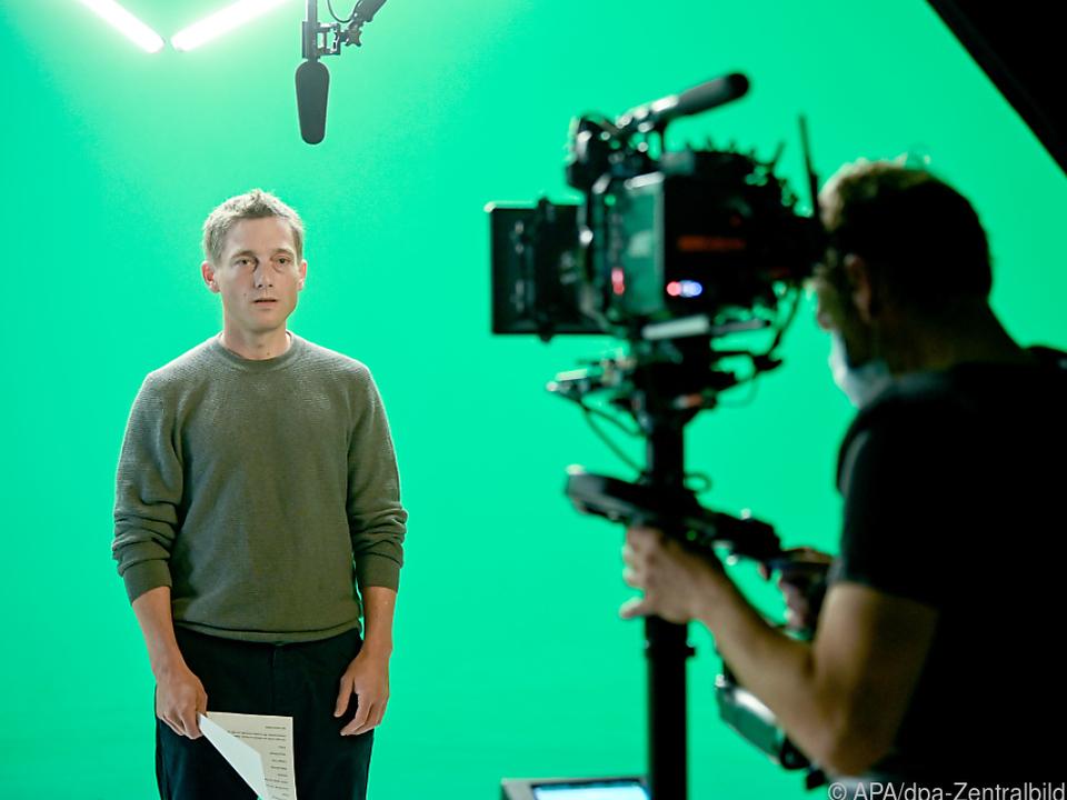 Bruch bei Dreharbeiten für einen UNHCR-Kurzfilm