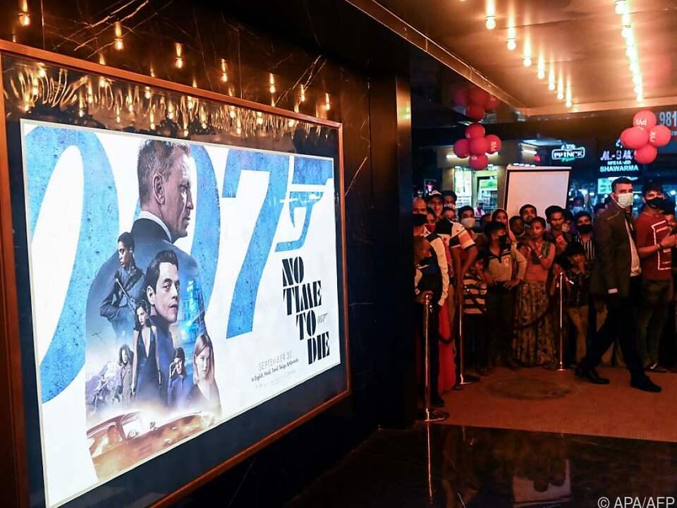 Der neue Bond füllt die Kinosäle