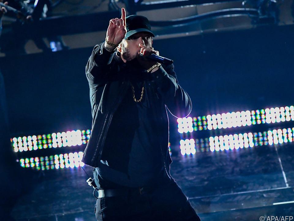 Der Rapper Eminem