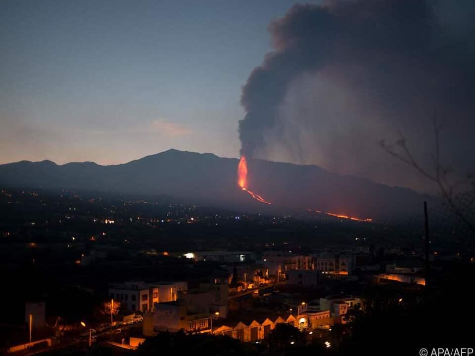 Der Vulkan ist seit 19. September aktiv