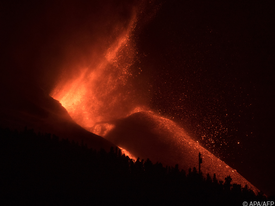 Der Vulkan kommt nicht zur Ruhe