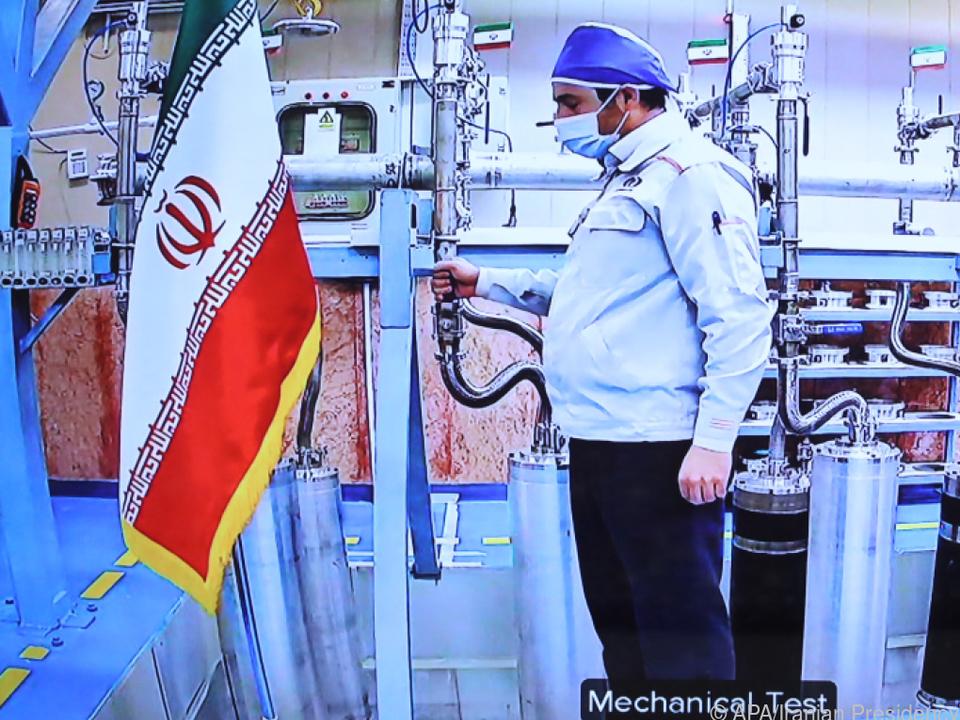 Die iranischen Zentrifugen zur Uran-Anreicherung drehen sich weiter