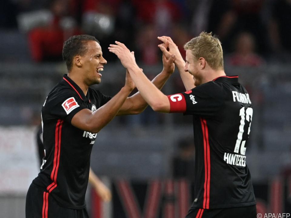 Eintracht-Freude in München