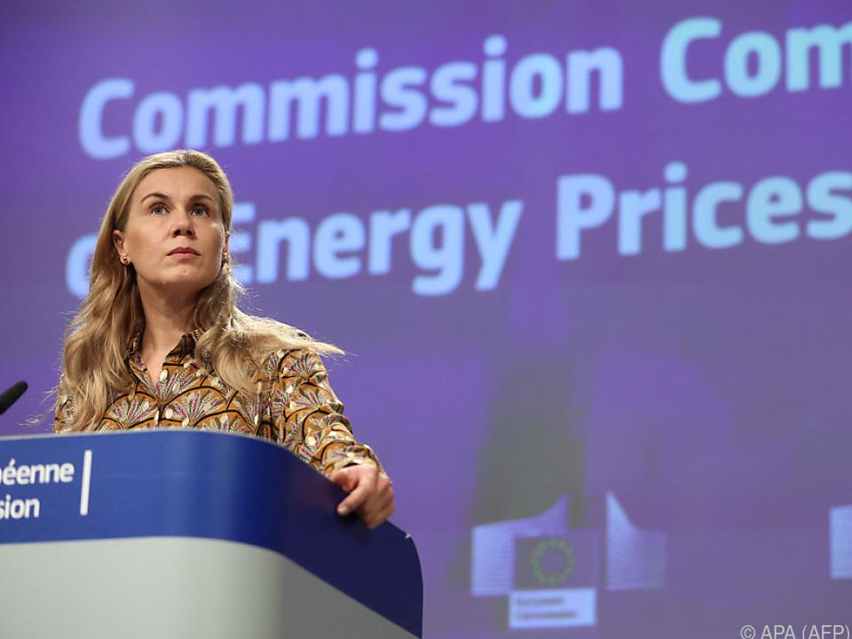 EU-Energiekommissarin Kadri Simson