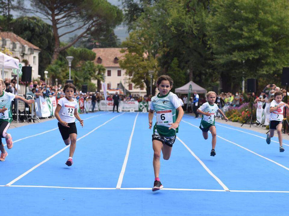 Euregio-SprintChampion Kategorie Mädchen U8