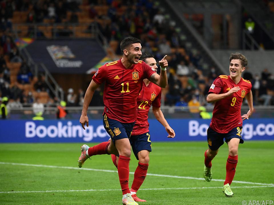 Ferran Torres ließ Spanien jubeln