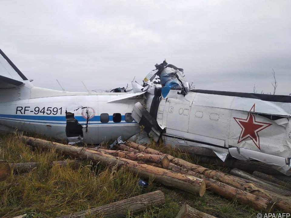 Flugzeugunglück mit Fallschirmspringern an Bord